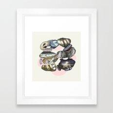 cicle Framed Art Print