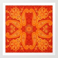 Ethnic Ornament Art Print