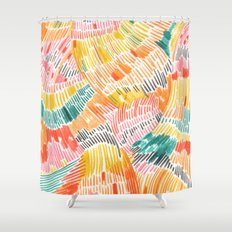 Pattern 6 Shower Curtain