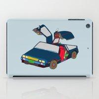 Cool Boys Like Flying Cars iPad Case