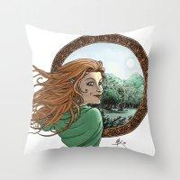 Elfic Throw Pillow