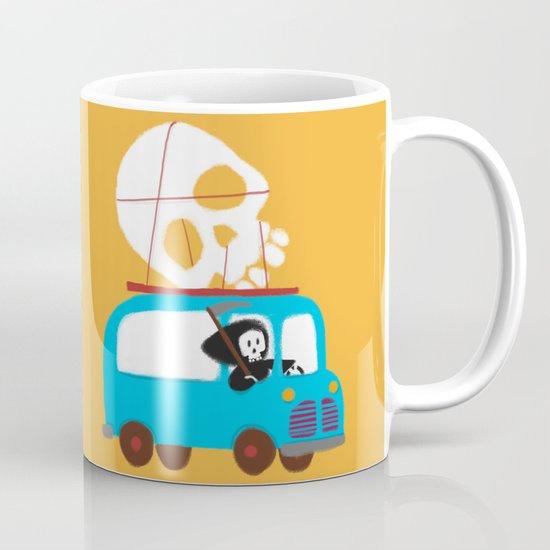 Death on wheels Mug