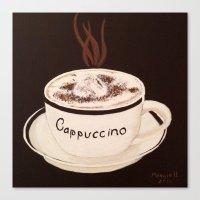 Cappuccino Canvas Print