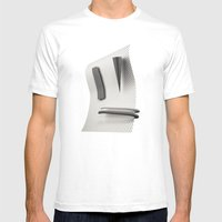 Selfie Mens Fitted Tee White SMALL