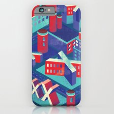 Isometric X city iPhone 6 Slim Case