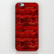 Leaf Strata (Ruby) iPhone & iPod Skin