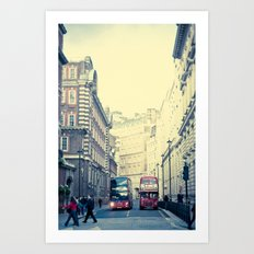 When New Meets Old  Art Print