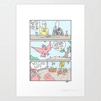 The job Art Print