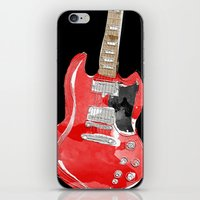 Gibson SG  iPhone & iPod Skin