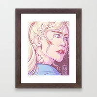 TWD: Not Another Dead Gi… Framed Art Print
