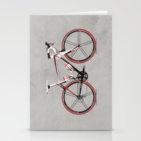 Race Bike Stationery Cards