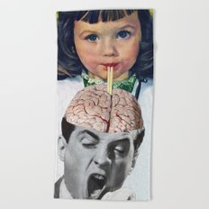 Reptilian Snack Beach Towel