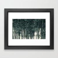 Tree Gazing Framed Art Print