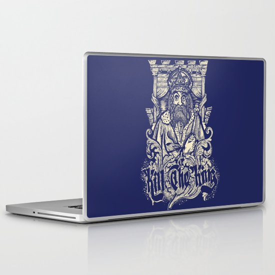 Kill The king Laptop & iPad Skin