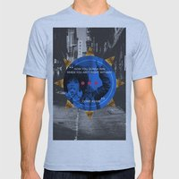 Lauryn Hill tribute  Mens Fitted Tee Athletic Blue SMALL