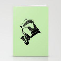 Badger Saxophone Stationery Cards