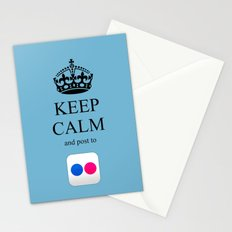KEEP CALM Flickr Stationery Cards