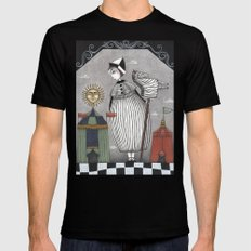 A Circus Story SMALL Mens Fitted Tee Black