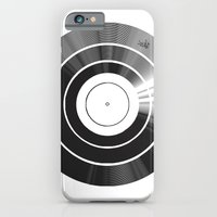 iPhone & iPod Case featuring Vinyl Intentions by Vee Ladwa