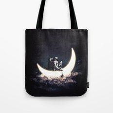 Moon Sailing Tote Bag