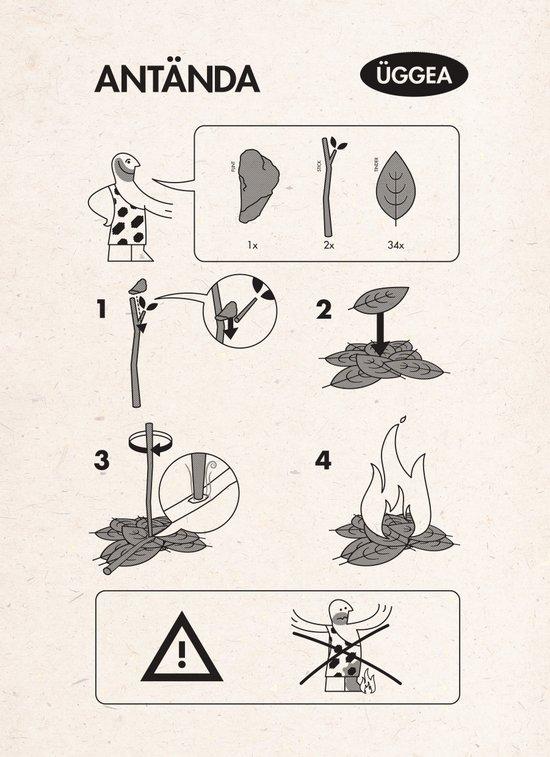 Flatpack Firestarter Canvas Print