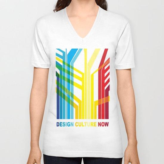 Design Culture V-neck T-shirt