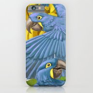 Hyacinth Macaws And Bana… iPhone 6 Slim Case