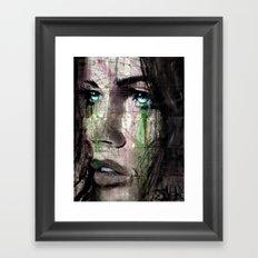 ALWAYS NEVER Framed Art Print