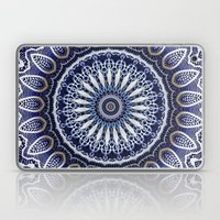 China Blue Laptop & iPad Skin