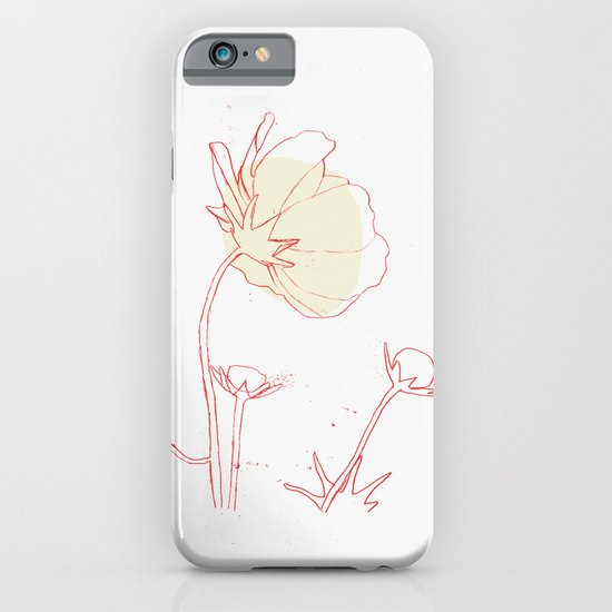 Minimal Flower iPhone & iPod Case
