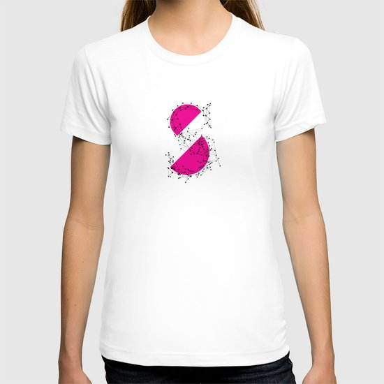 S (abstract geometrical type) T-shirt