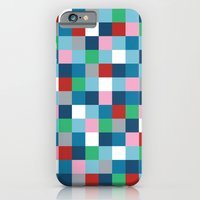 iPhone & iPod Case featuring Colour Block #4 by Project M