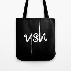 Leave only ASH Tote Bag