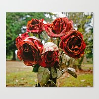 Canvas Print featuring Beauty of death by Vorona Photography