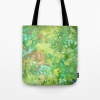 Greenwoods Abstract Tote Bag