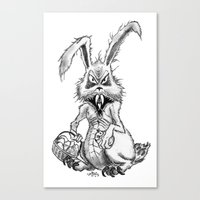Easter Evil Canvas Print
