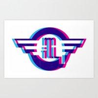Metro Illusions - 3D Art Print