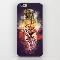 Inner Beast  iPhone & iPod Skin