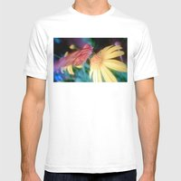 hungry butterfly Mens Fitted Tee White SMALL