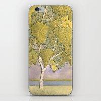 Birch 1 iPhone & iPod Skin