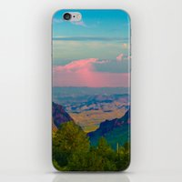 Chisos Mountain Park Big Bend Texas iPhone & iPod Skin
