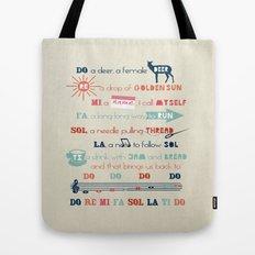 Do Re Mi Fa Sol La Ti Do Tote Bag