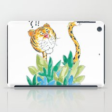 Spots, your tail is up! iPad Case
