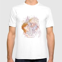 """ I Realized Early Au… Mens Fitted Tee White SMALL"