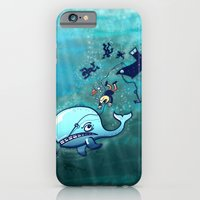 Whales Are Furious! iPhone 6 Slim Case