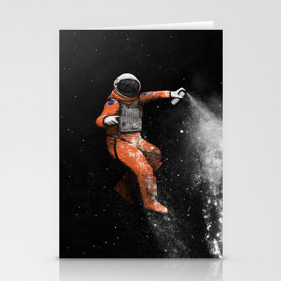 Astronaut Stationery Card