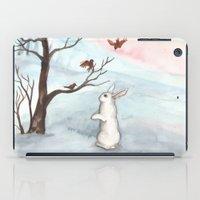 Rabbit In The Winter Sno… iPad Case