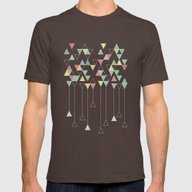 T-shirt featuring Dark Triangles III by Metron