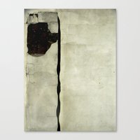 What A Strange, Squiggly… Canvas Print