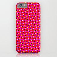 PINK DOT & STAR  iPhone 6 Slim Case